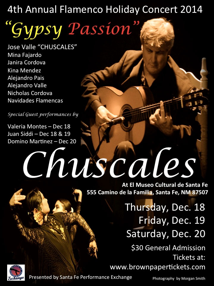 4th Annual Flamenco Festival Holiday Concert 2014