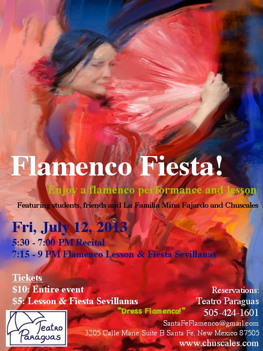 Flamenco Fiesta! Santa Fe 2013