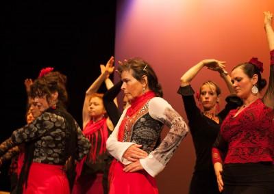 Mina Fajardo Espanola Flamenco Class-12