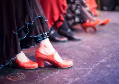 Mina Fajardo Espanola Flamenco Class-2