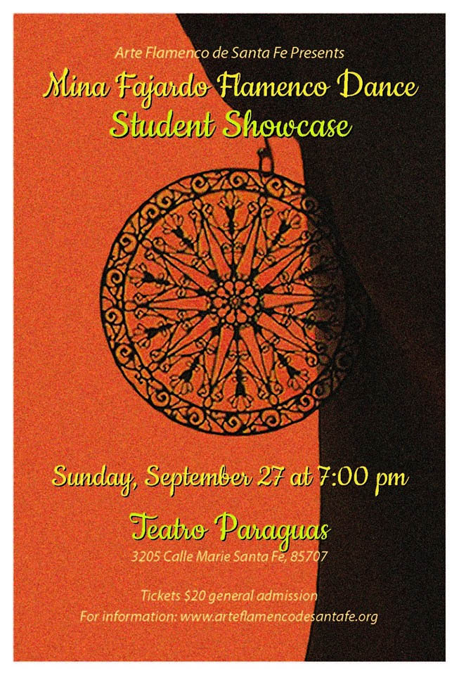 Mina Fajardo Flamenco Dance Student Showcase: September 27th, 2015