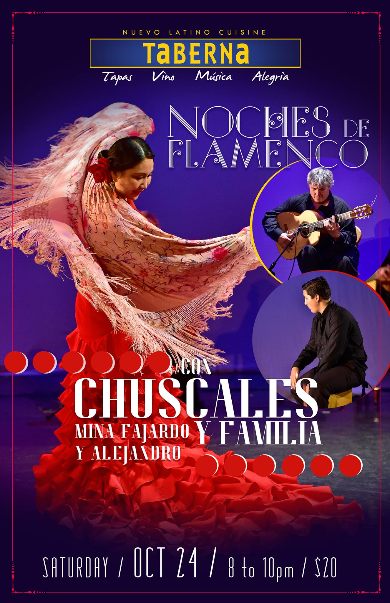 Noches de Flamenco, October 24th, 2015