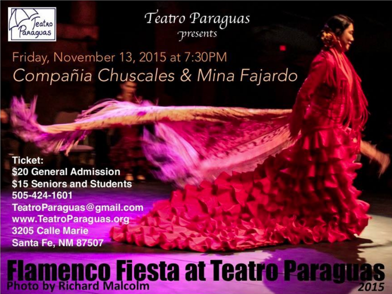 Flamenco Fiesta at Teatro Paraguas: Nov. 13th, 2015