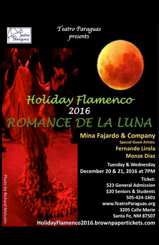 "Holiday Flamenco 2016 ""Romance de la Luna"""