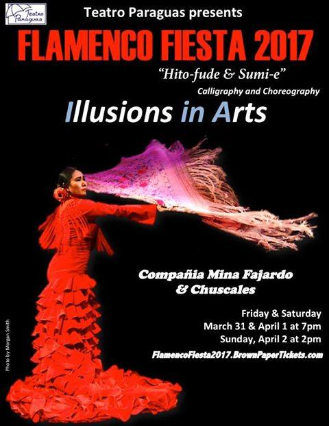 Illusion in Arts Flamenco Mina Fajardo