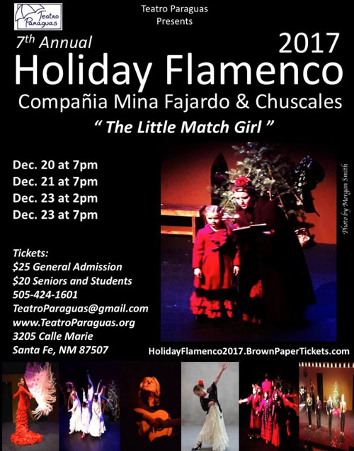 Holiday Flamenco 2017, The Little Match Girl