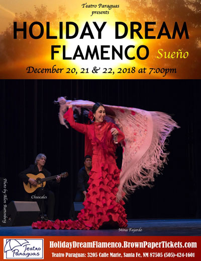 Holiday Dream Flamenco & Belly Dance Dec. 20-22, 2018