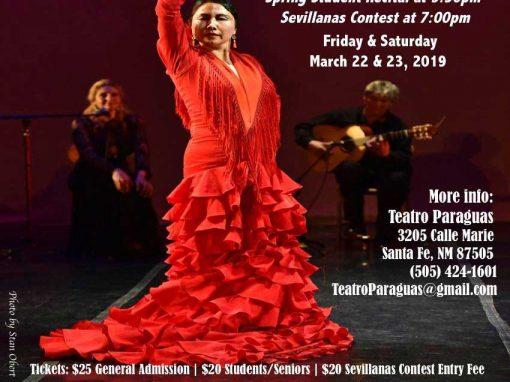 Flamenco Fiesta 2019 – Spring Student Recital & Sevillanas Contest